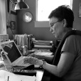 """TONI HANNER, also from Oregon, USA, is a member of Red Sofa Poets and the Madrona Writers. Her books include The Ravelling Braid (Tebot Bach, 2012), Gertrude, poems and other objects (Traprock, 2012), and The Book of Orange Dave (Chandelier Galaxy Books, 2015). Gertrude was a finalist for the 2013 Oregon Book Award. Hanner. She is a confirmed francophile who also loves Argentine tango. She lives in Eugene, Oregon with poet Michael Hanner.In """"Inheritance,"""" Toni talks about the gifts bequeathed to her."""