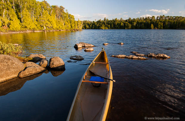 Boundary Waters Solo Canoe
