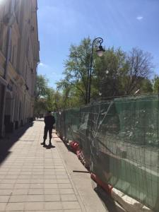 Moscow has many faces: Bronnaya Moscow destroyed history